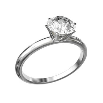 White gold and diamond engagement rings cardiff ...